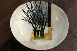 Aileen's bowl by ceramicist Anna Lambert. Credit Anthony Pinching.